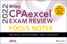 Wiley's CPA Jan 2022 Focus Notes: Business Environment and Concepts Cover Image