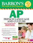 Barron's AP French Language and Culture with Audio CDs Cover Image