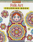 Folk Art Coloring Book (Coloring Is Fun #13) Cover Image