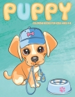 Puppy Coloring Books for Kids Ages 4-8: Cute Dog Coloring Book for Puppy Lovers Cover Image