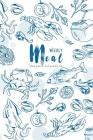 Weekly Meal Menu Planner with Grocery List: Meal Planner Notebook Journal Tracking and Prepping Your Meals with Grocery Shopping List: Food Menu Plann Cover Image