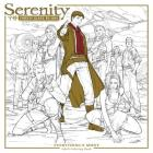 Serenity: Everything's Shiny Adult Coloring Book Cover Image