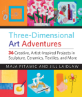 Three-Dimensional Art Adventures: 36 Creative, Artist-Inspired Projects in Sculpture, Ceramics, Textiles, and More Cover Image