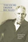 Theodore Dreiser Recalled Cover Image