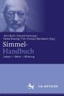 Simmel-Handbuch: Leben - Werk - Wirkung Cover Image