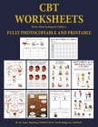 Books About Feelings for Children (CBT Worksheets): CBT worksheets for child therapists in training: CBT child formulation worksheets, CBT thought rec Cover Image