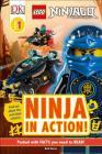 DK Readers L1: LEGO NINJAGO: Ninja in Action (DK Readers Level 1) Cover Image