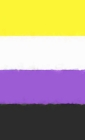 Nonbinary Pride Flag Journal Cover Image