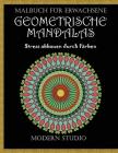 Geometrische Mandalas: Malbuch für Erwachsene Cover Image