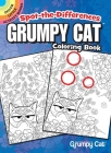 Spot-The-Differences: Grumpy Cat Coloring Book Cover Image