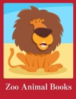 Zoo Animal Books: Cute Christmas Animals and Funny Activity for Kids Cover Image