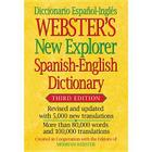 Webster's New Explorer Spanish-English Dictionary, Third Edition Cover Image