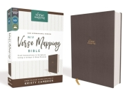 Niv, Verse Mapping Bible, Cloth Over Board, Gray, Comfort Print: Find Connections in Scripture Using a Unique 5-Step Process Cover Image