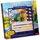 Watercolor Painting Kit: Professional materials and step-by-step instruction for the aspiring artist (Walter Foster Painting Kits) Cover Image