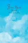 2020-2024 Five Year Planner And Calendar: 5 Year Pocket Monthly Schedule Organizer, 60 Month Calendar with Holidays, Cloud Sky Cover Image