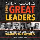 2020 Great Quotes from Great Leaders Boxed Calendar Cover Image