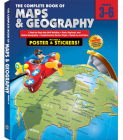 The Complete Book of Maps and Geography, Grades 3 - 6 [With Poster] Cover Image