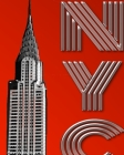 Iconic New York City Chrysler Building creative Writing Drawing Journal Cover Image