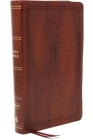 Nkjv, Reference Bible, Personal Size Large Print, Leathersoft, Brown, Red Letter Edition, Comfort Print: Holy Bible, New King James Version Cover Image