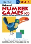 My Book of Number Games, 1-70: Ages 3, 4, 5 Cover Image
