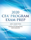 2020 CFA Program Exam Prep Level 1: 2020 CFA Level 1, Book 3: Financial Reporting and Analysis Cover Image