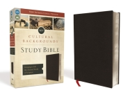 NIV, Cultural Backgrounds Study Bible, Bonded Leather, Black: Bringing to Life the Ancient World of Scripture Cover Image