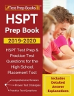 HSPT Prep Book 2019-2020: HSPT Test Prep & Practice Test Questions for the High School Placement Test [Includes Detailed Answer Explanations] Cover Image