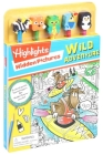 Highlights: Hidden Pictures: Wild Adventure (Pencil Toppers) Cover Image