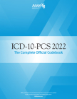 ICD-10-PCs 2022 the Complete Official Codebook Cover Image