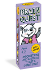 Brain Quest Preschool Q&A Cards: 300 Questions and Answers to Get a Smart Start. Curriculum-based! Teacher-approved! (Brain Quest Decks) Cover Image