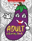 Adult coloring book: Amazing coloring book for adults with fish, fruits and vegetables it patterns for relaxation Cover Image