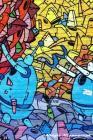 Music Manuscript Paper: Robot Cartoon Colorful, Blank Sheet Music Book, Guitar Tab, Musicians Lyrics Notebook, Music Manuscript Paper, Staff P Cover Image