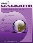Math Mammoth Grade 6 Answer Keys Cover Image