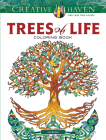 Creative Haven Trees of Life Coloring Book Cover Image