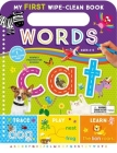 My First Wipe-Clean Book: Words Cover Image