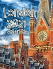 London 2021 Calendar Cover Image
