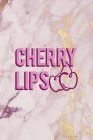 Cherry Lips: Cherry Notebook Journal Composition Blank Lined Diary Notepad 120 Pages Paperback Pink Cover Image