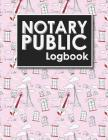 Notary Public Logbook: Notarized Paper, Notary Public Forms, Notary Log, Notary Record Template, Cute Paris & Music Cover Cover Image