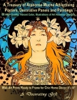 A Treasury of Alphonse Mucha Advertising Posters, Decorative Panels and Paintings, 60 High-Quality, Vibrant Color, Illustrations of Art Nouveau Design Cover Image