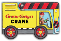 Curious George's Crane (mini movers shaped board books) Cover Image