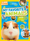 National Geographic Kids My Favorite Animals Super Sticker Activity Book (NG Sticker Activity Books) Cover Image