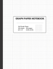 Graph Paper Notebook: Composition Book- Quad Ruled, 100 Sheets (large, 8.5 x 11) Cover Image