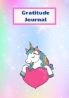 Gratitude Iournal: unicorn gratitude log for kids gratitude Iournal for girls and boys Cover Image