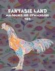 Malbücher für Erwachsene - Tier - Fantasie Land Cover Image