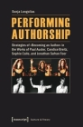 Performing Authorship: Strategies of