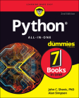 Python All-In-One for Dummies Cover Image