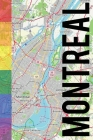 Montreal: 6x9 blank lined journal rainbow style Cover Image