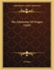 The Admission Of Oregon (1859) Cover Image