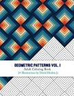 Geometric Patterns - Adult Coloring Book Vol. 1 - Inkcartel Cover Image