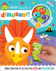 Never Touch a Dinosaur [With 10 Toy Characters and A Fold-Out, Soft Mat] (Read and Play) Cover Image